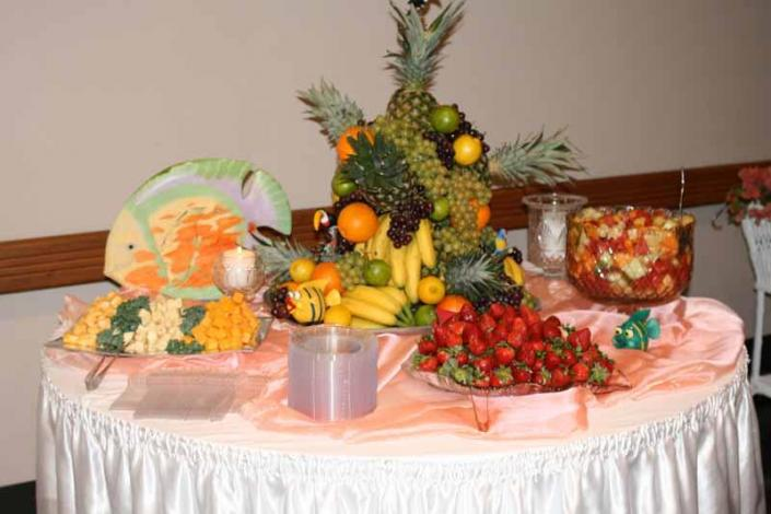 [Image: Let our food complement the theme of your party or event.]