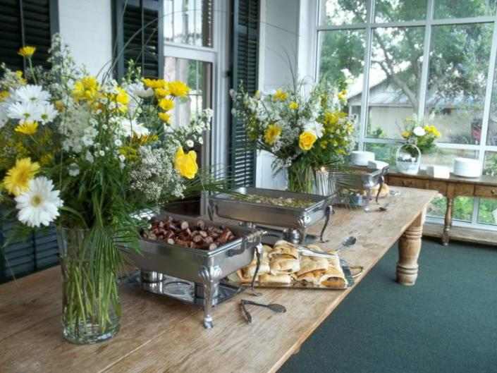 No matter how large or small your party or event, let Back Woods Catering take care of your guests]