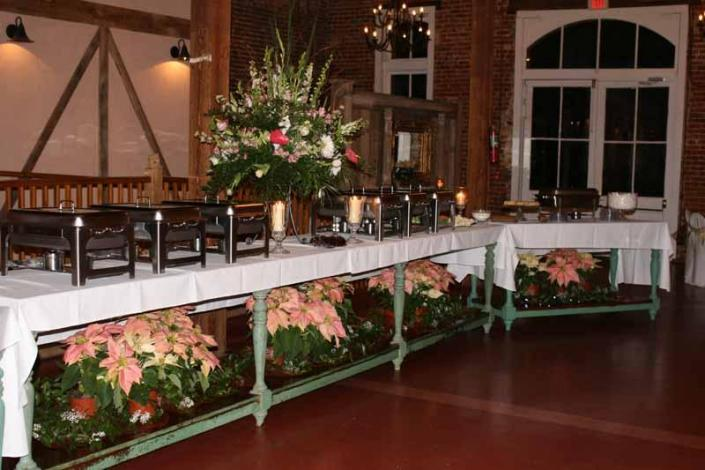 Let Back Woods Catering delight your guests with holiday fare